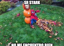Enlace a Spiderman lo está pasando realmente mal