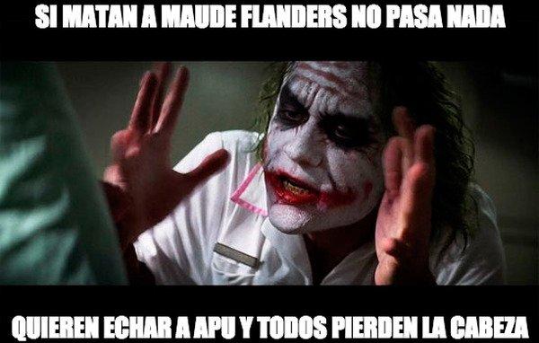 Joker - A mi me dio pena la mujer de Flanders :(