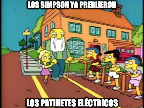 Meme_otros - Los Simpson son diabólicos