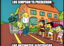 Enlace a Los Simpson son diabólicos