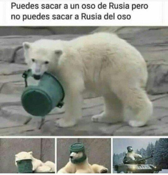 Meme_otros - Rusia vive dentro de él