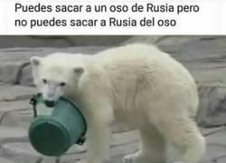Enlace a Rusia vive dentro de él