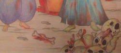 Enlace a Le dan dibujos de 'pinta y colorea' a un adulto y destroza la infancia a todos los niños
