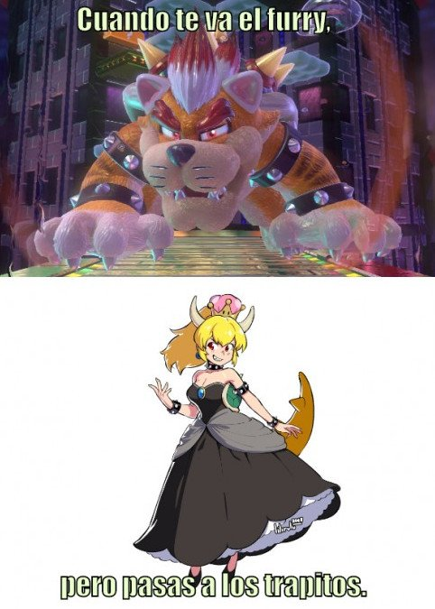 Otros - Bowser hace all in