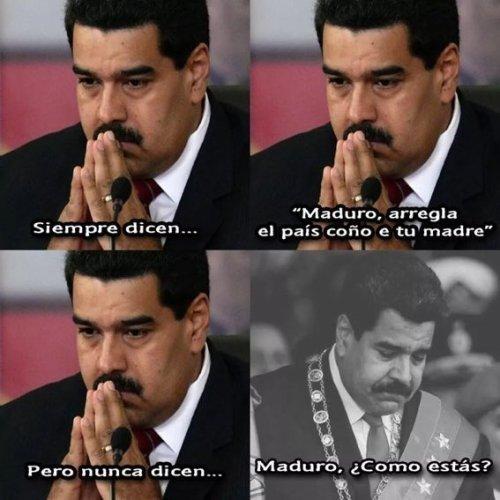 Meme_otros - Maduro no puede más