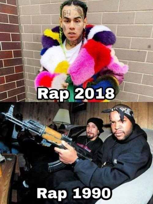 Meme_otros - Como ha cambiado el rap