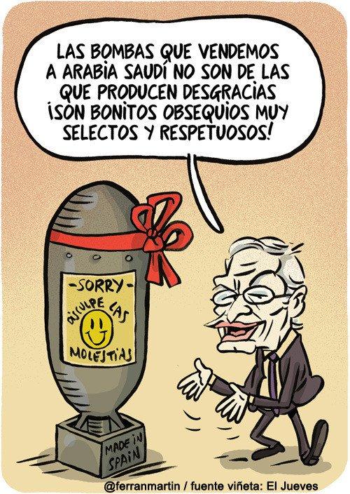 Otros - Las bombas españolas que se venden a Arabia Saudí
