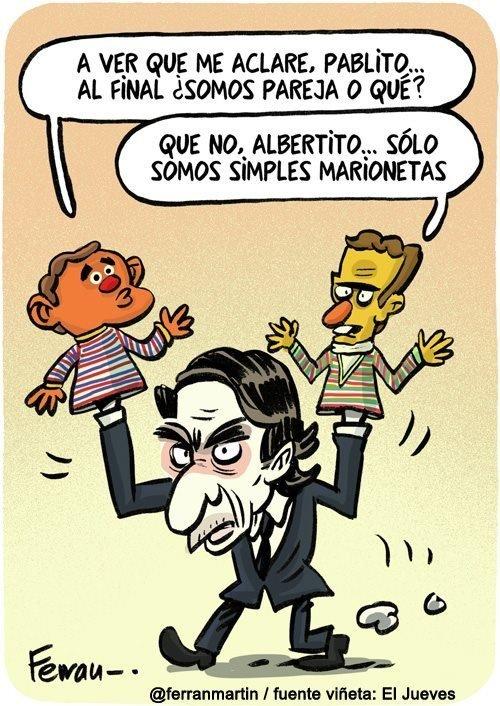Otros - La pareja Albert Rivera y Pablo Casado