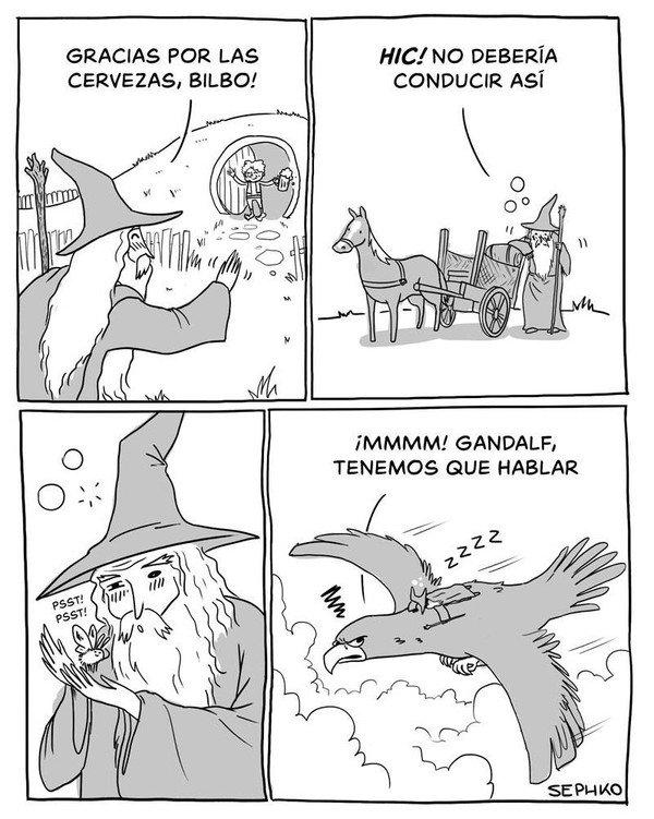 Otros - El transporte alternativo de Gandalf