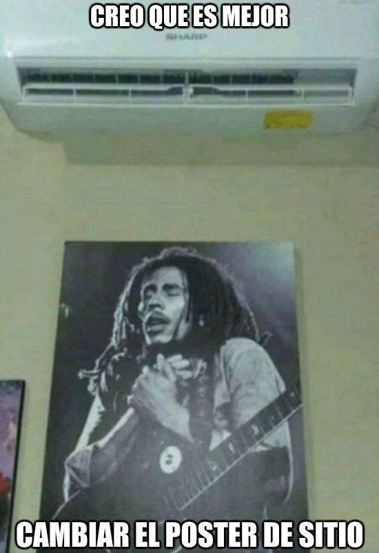 Meme_otros - El pobre Bob Marley lo está pasando realmente mal