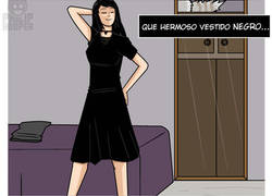 Enlace a Vestido negro