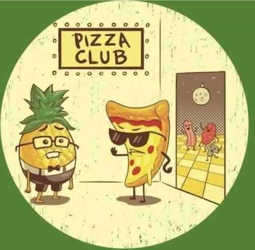 piña,pizza