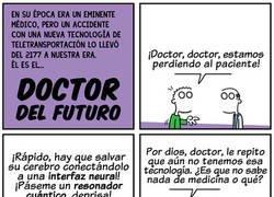 Enlace a Un médico en una época equivocada