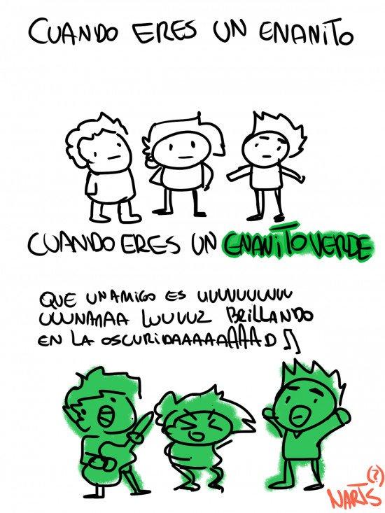 Otros - Enanitos verdes