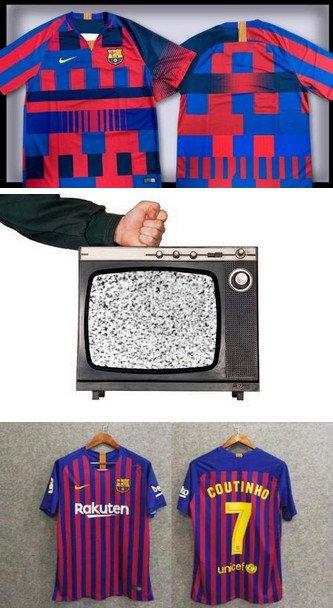 Otros - Arreglando la camiseta del Barça