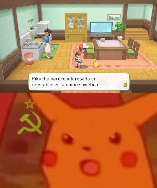 Meme_otros - Pikachu y sus objetivos