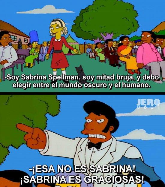Otros - Queremos a la Sabrina original