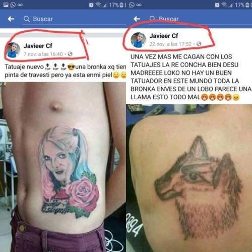Meme_otros - Este tío no aprende con los tatuajes