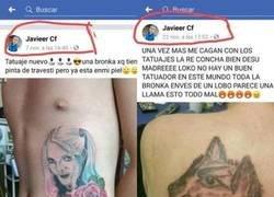 Enlace a Este tío no aprende con los tatuajes