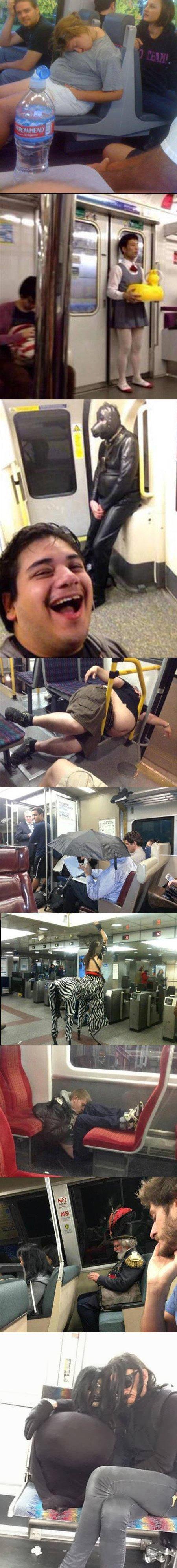Meme_otros - Situaciones embarazosas que te encuentras en el metro cuando menos esperas