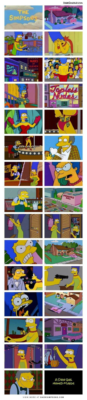 Otros - La historia de Marge Simpson como nunca antes la habías visto