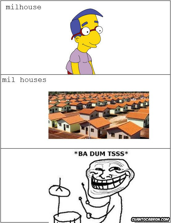 Trollface - 100 casas