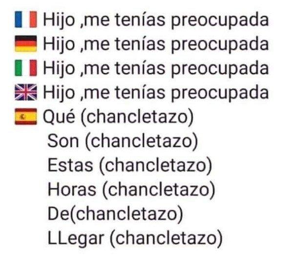 Meme_otros - Como las madres españolas no hay nada