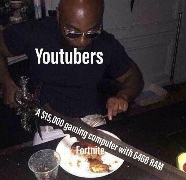 Meme_otros - Youtubers tirando el dinero a lo loco