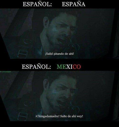 Meme_otros - Grandes diferencias entre España y México