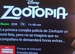 Enlace a Esta peli de Zootopia no me inspira confianza