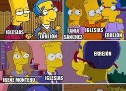 Enlace a La historia de Errejón en Podemos ya la contaron Los Simpson