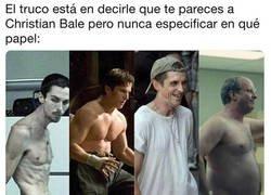 Enlace a Me parezco a Christian Bale