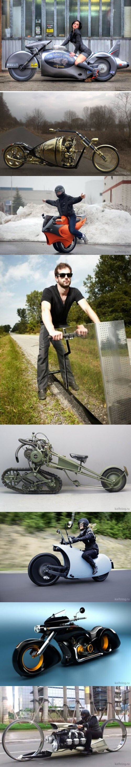 Meme_otros - Necesito probar todas estas motos al menos una vez en mi vida