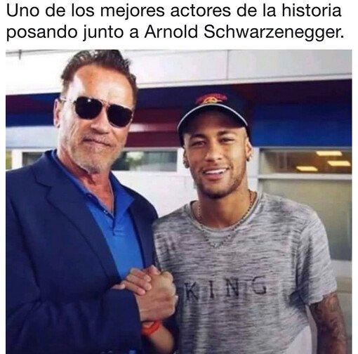 Meme_otros - Un grande de la profesión Neymar
