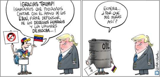 Otros - Lo que Trump ve al mirar a Venezuela