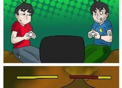 Enlace a Problemas con los videojuegos