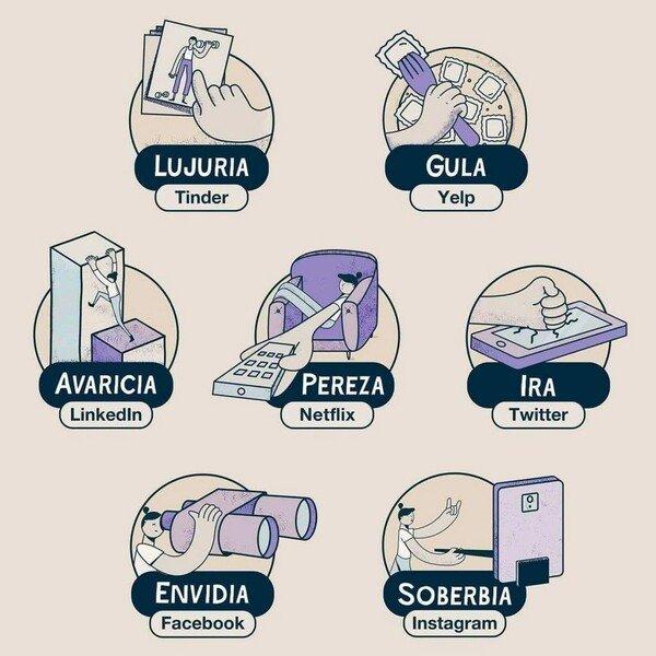 Otros - Los 7 pecados capitales de la era moderna