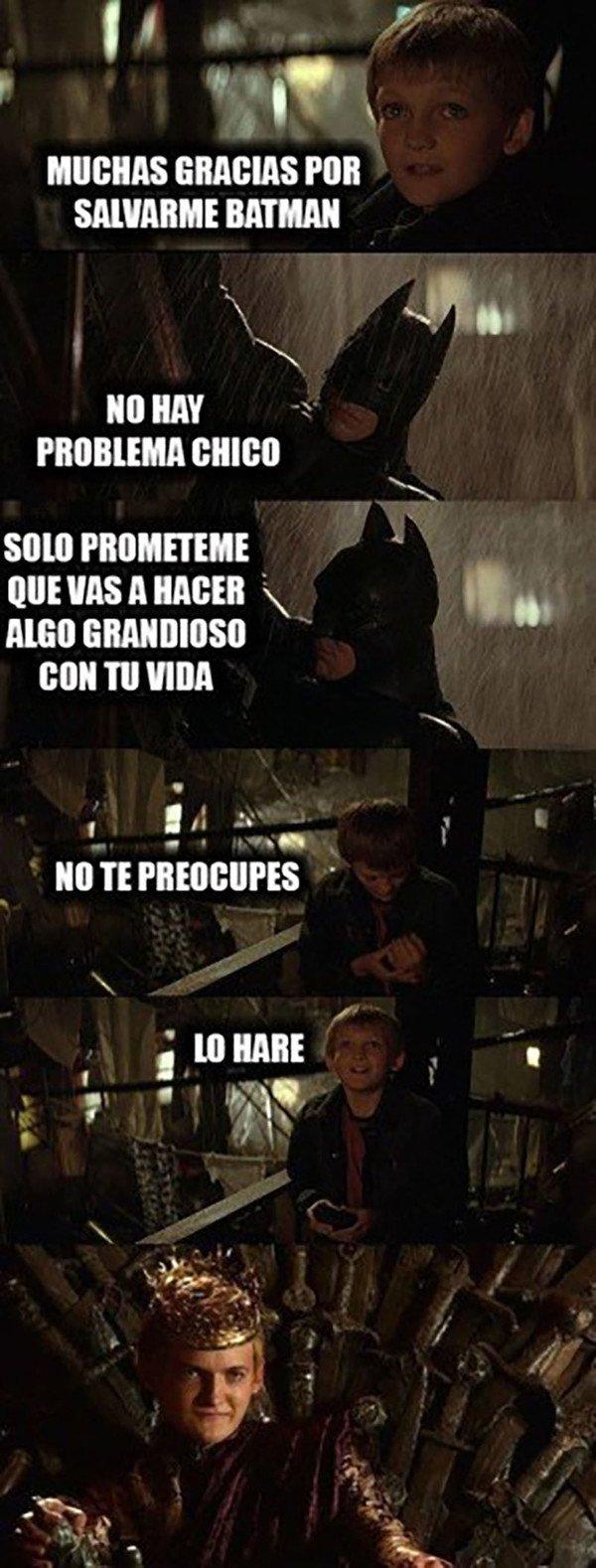 Meme_otros - Solamente siguió los consejos de Batman