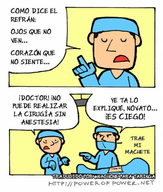 Otros - Una cirugía que se va a complicar