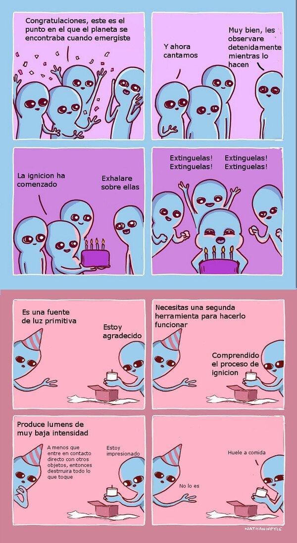 Otros - Cumpleaños alien