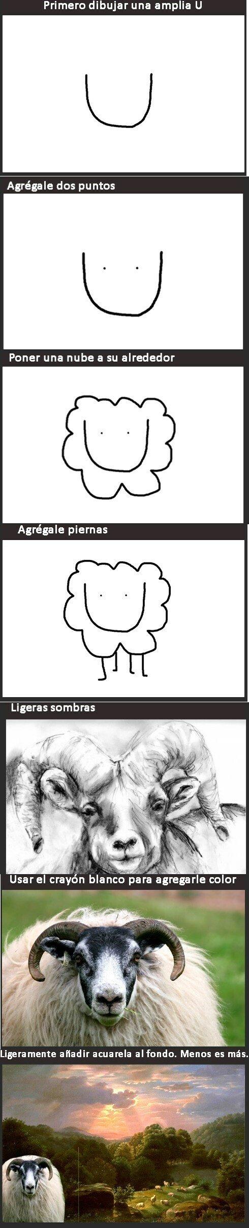 Meme_otros - Una pequeña clase para aprender a dibujar fácilmente