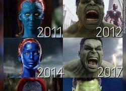 Enlace a Los superhéroes están cambiando año tras año