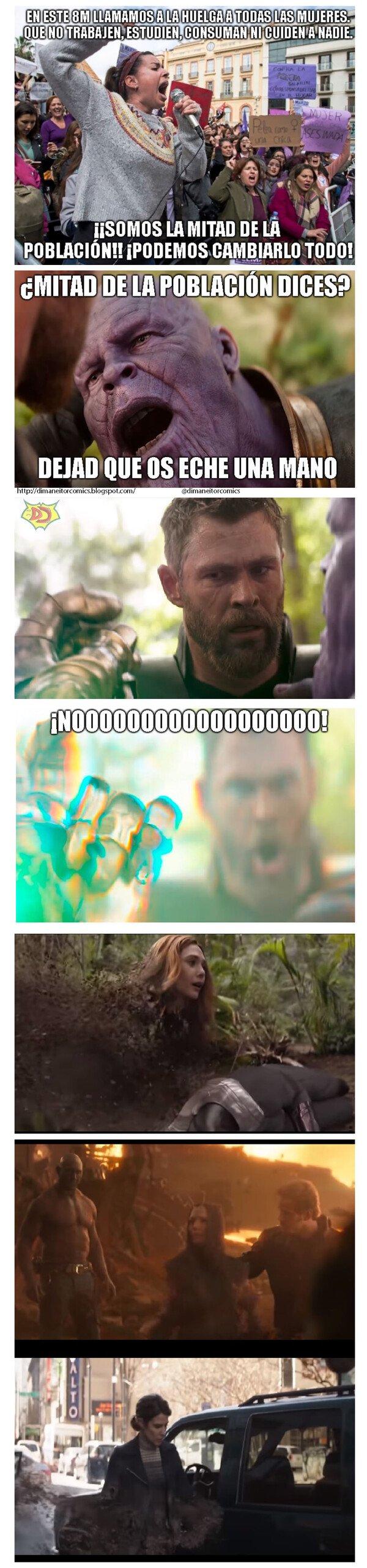 Otros - Thanos, el aliado feminista