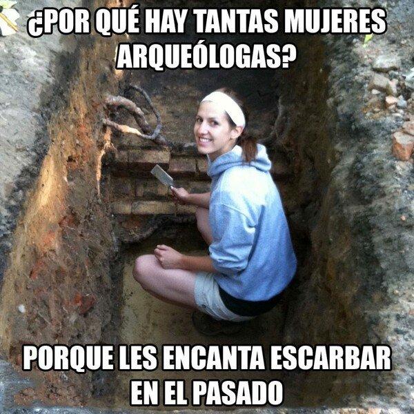 Meme_otros - Mujeres arqueólogas
