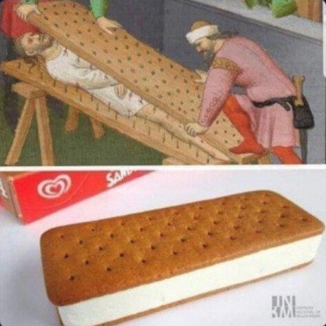 Meme_otros - Así es como se crean los helados de sandwich