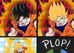 Enlace a El gran poder de Goku a la hora de ir al baño