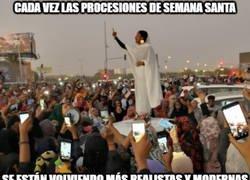 Enlace a Cómo han cambiado las procesiones de Semana Santa