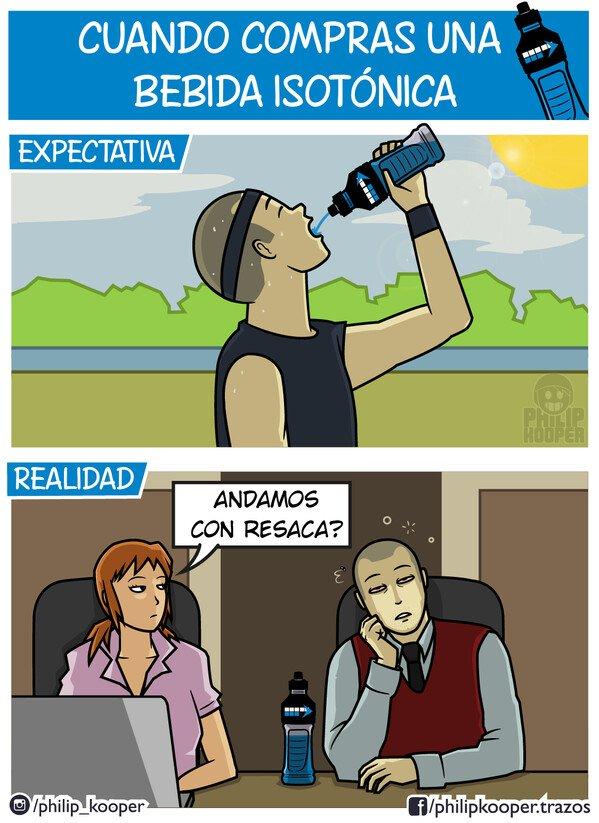 Otros - Bebida isotónica