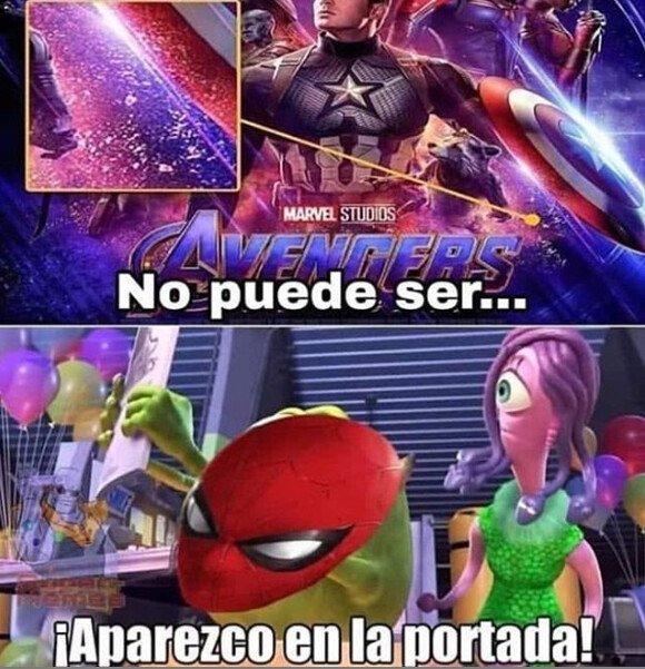 Meme_otros - Spider-man y su gran aparición