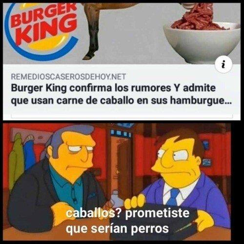 Meme_otros - Polémica en Burger King